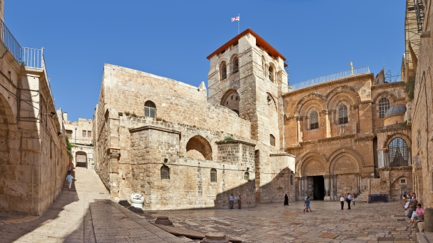 Church of the Holy Sepulchre in Jerusalem.